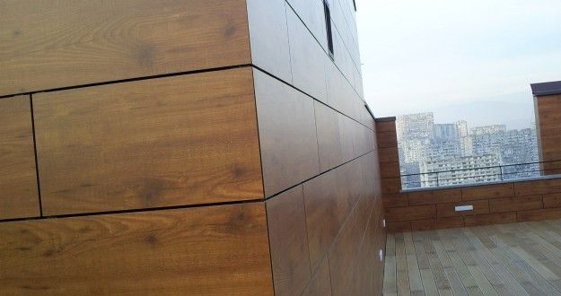 Exterior Wall Cladding Services : Shaya trading est